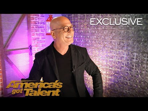 Howie Mandel Is Ecstatic About His Golden Buzzer Courtney Hadwin - America's Got Talent 2018