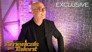 Howie Mandel Is Ecstatic About His Golden Buzzer Courtney Hadwin - America