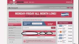 Boss Revolution Portal Mobile Top Up Demo