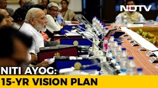 At NITI Aayog Meet, PM Narendra Modi Pitches Vision Of