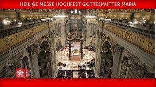 Papst Franziskus - Heilige Messe für Ordensleute 2018-02-02