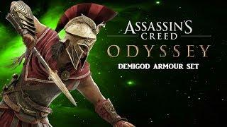 ASSASSINS CREED ODYSSEY | Demigod Armour Set | Insane Damage Output