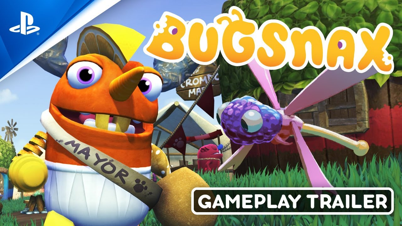 Indulge in a look at tasty Bugsnax gameplay