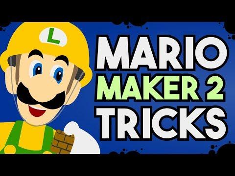 7 Basic Super Mario Maker Tricks, that work in Super Mario Maker 2!