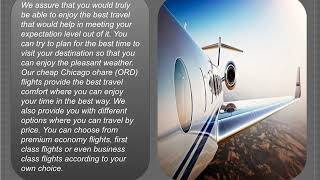 cheap flights from Chicago ohare