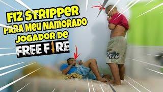 FIZ UM STRIPPER ENQUANTO ELE JOGAVA FREE FIRE - #IRRITANDOMEUNAMORADO