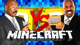 Minecraft: FAMILY FEUD LUCKY BLOCK CHALLENGE | GAMESHOW OF DEATH!!