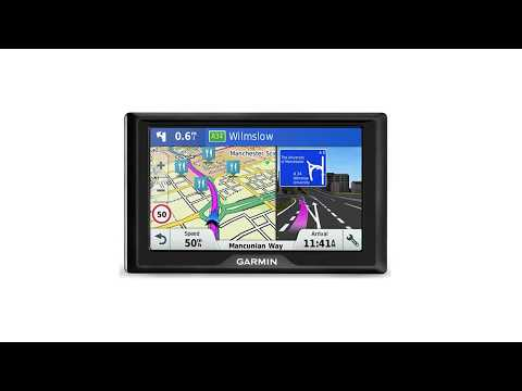 Garmin Drive 51 LMT-S EU Navigationsgerät Unboxing + Test [DEUTSCH]