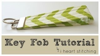 Key Fob Sewing Tutorial