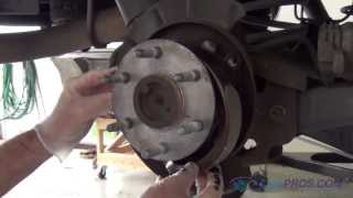 Parking Brake Shoe Replacement Chevy Tahoe