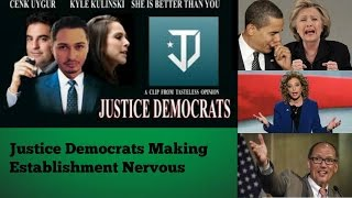 Justice Democrats against the Establishment
