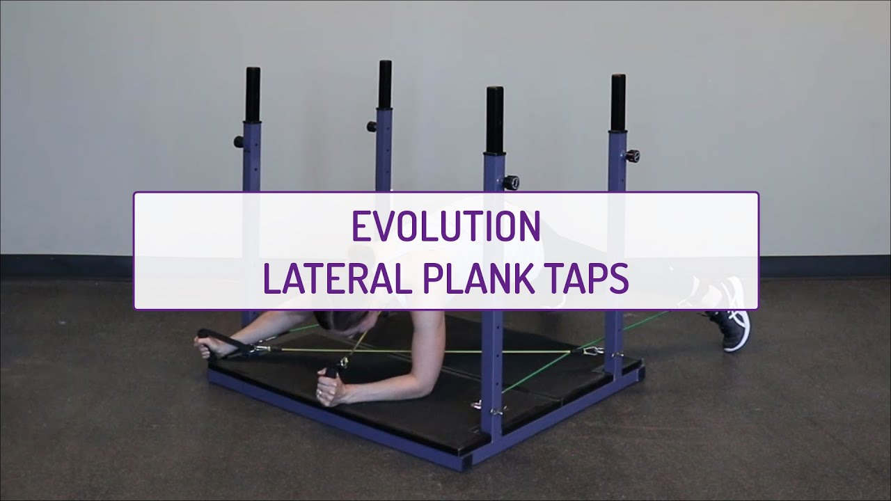 Evolution Lateral Plank Taps