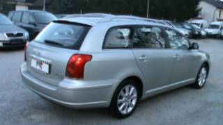 2005Toyota Avensis W G 2.0 D-4D SOL  Full Review,Start Up, Engine, and In Depth Tour