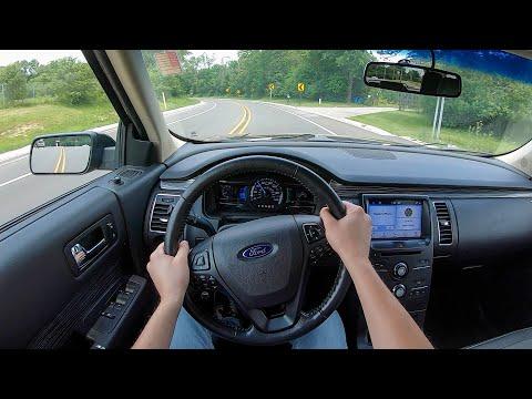2018 Ford Flex SEL AWD - POV Test Drive (Binaural Audio)
