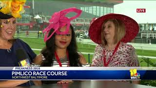 See the latest trends in Preakness hats