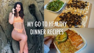 Healthy Dinner Ideas/Recipes