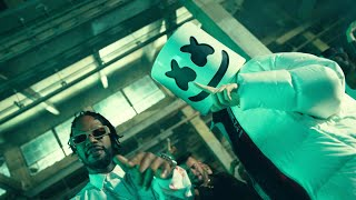 Marshmello x Eptic - HITTA (Feat. Juicy J) [Official Music Video]