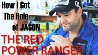 HOW I GOT THE ROLE!! of The Red Power Ranger! (Jason Lee Scott) -  AUSTIN ST. JOHN: THE RED RANGER