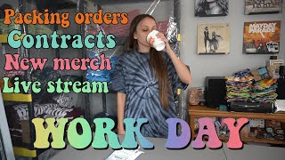 WORK DAY IN MY LIFE VLOG! by Silenced Hippie