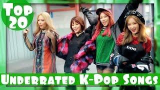 [TOP 20] UNDERRATED K-POP SONGS - OCTOBER 2016 (WEEK 3)