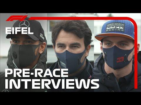 F1 ドイツGPレース直前のドライバーインタビュー動画