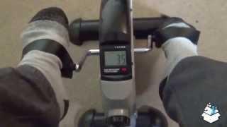 Unboxing Assemble & demo - Ultrasport Mini Bike MB 100 Selection Series Arm and Leg Training Machine