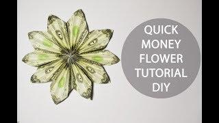 3 dollar origami flower tutorial most popular videos quick money flower origami dollar folded tutorial diy decoration mightylinksfo