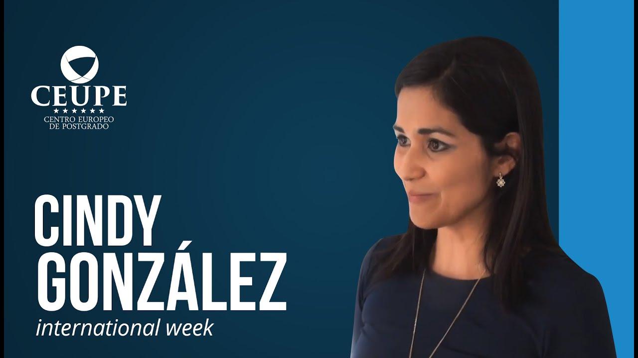 Cindy Liseth, alumna de la Semana Internacional y del Máster en Corporate Compliance