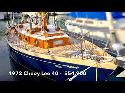 Cheoy Lee Offshore 40 video