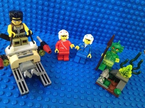 Vidéo LEGO Monster Fighters 9461 : La créature des marais