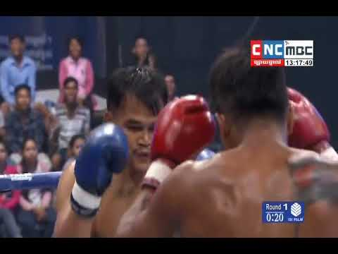 Moeun Sokhuch Vs Namkaboun,Thai, CNC boxing 21 january 2018, Khmer tv Boxing
