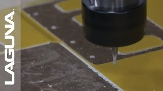 CNC Machine - IQ CNC Cutting Multiply Epoxy Fiberglass