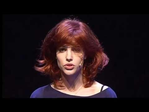 Sophie van der Stap tijdens TEDx Maastricht