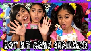 Not My Arms Challenge - Decorating Christmas Cookies : CHALLENGES // GEM Sisters