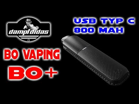 YouTube Video zu Bo Vaping Bo Plus Starterset 800 mAh 1.5 ml