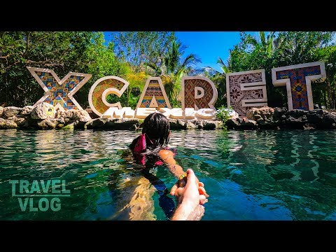 OUR DAY IN XCARET!!