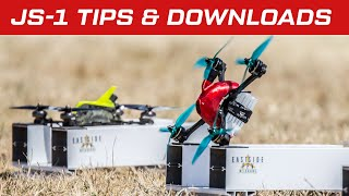 JS-1 Drone Racing Quad Build Tips and Downloads