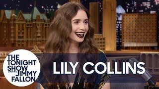 Lily Collins Family Fell For Her Pregnancy Prank