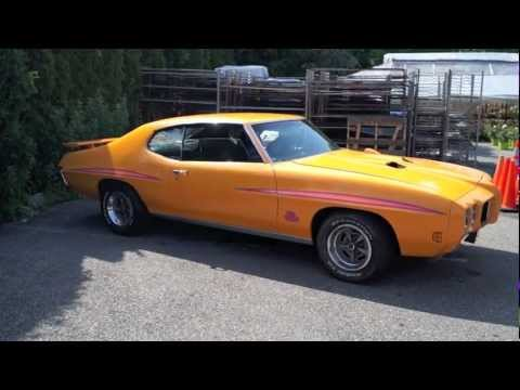 1970 Pontiac GTO Judge Start Up & Test Drive Video