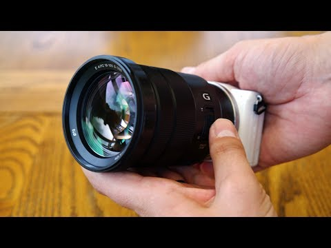 Sony PZ 18-105mm f/4 OSS 'G' lens review with samples