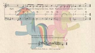 [Sheet Music] May the Best Pet Win (Find a Pet Song) - vocals, chords and bassline