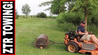 IS IT POSSIBLE TO TOW WITH YOUR ZERO TURN MOWER?