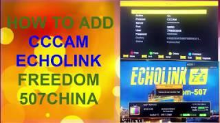 Echolink 4200 cccam option - Самые лучшие видео