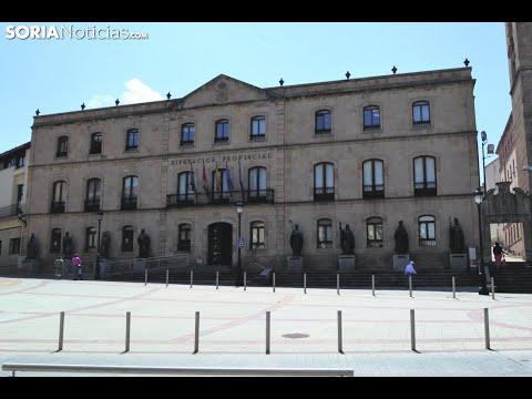 Pleno extraordinario de la Diputación Provincial (16 de abril).