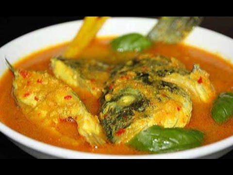 Video Resep Masakan Ikan Mujair Kuah Kuning