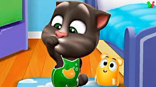 ГОВОРЯЩИЙ ТОМ 2 Мультик Игра #3 Мой Лучший Друг Кот и Хомяк Виртуальный Питомец для Детей