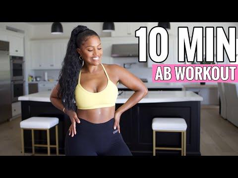 MY 10 MIN AB WORKOUT | SHAYLA