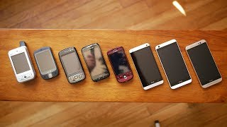 A look back at the evolution of HTC's smartphone designs - Video Youtube