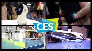 CES 2018: Ping-Pong Robot, In-Display Fingerprint Sensor, and More!