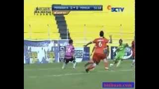 SCM Cup 2015  Persebaya Vs Persija  Peluang Marcolino 00